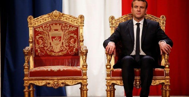 Le coup d'état Macron Le prince contre la nation