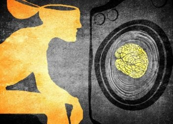 washimg brain illustration concept