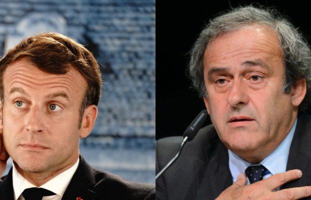 Affaire Platini : Emmanuel Macron impliqué, selon Mediapart